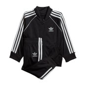 Adidas Originals Kids SST Set, Black White