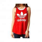 Adidas W Track Tank Top, Red