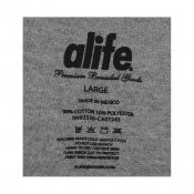 ALIFE Outlined Tee, Heather Grey