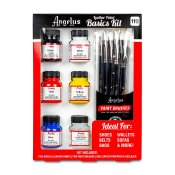 Angelus Acrylic Leather Paint Basics Kit