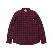 Carhartt LS Shawn Shirt, Grape Rinsed