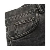 Carhartt Newel Pant, Black Rock Washed