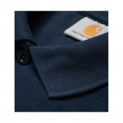 Carhartt SS Slim Fit Polo, Navy Gold