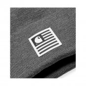 Carhartt State Beanie, Dark Grey Heather