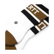 Carhartt x Stance Strike Socks, White Black Hamilton Brown