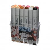 Copic Marker 12 Set, Skin Tone Colours
