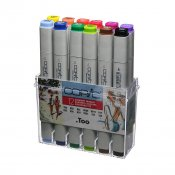 Copic Marker 12 Set, Summer Colours