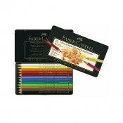 Faber-Castell Polychromos Color pencils 12-set