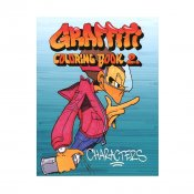 Graffiti Coloring Book 2
