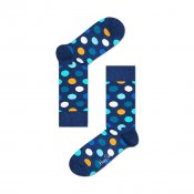 Happy Socks Big Dot, Blue Orange