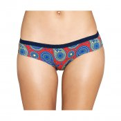 Happy Socks Briefs Paisley, Blue Red