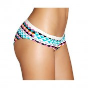 Happy Socks Briefs ZigZag, Blue White Pink