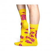 Happy Socks Cow, Yellow Pink
