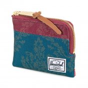 Herschel Supply Johnny, Blue Burgundy Damask