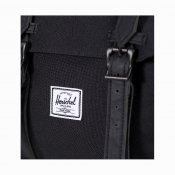 Herschel Supply Little America, Black Black PU