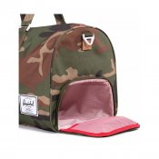 Herschel Supply Novel Duffle, Woodland Camo multi zip