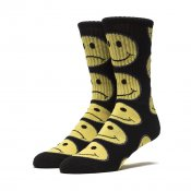 HUF Bi Polar Socks, Black