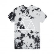 HUF Crystal Wash Trip Tee, Black
