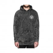 HUF Third Eye Hood, Acid Wash Black