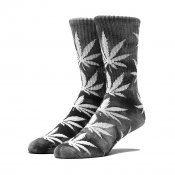 HUF Tie Dye Plantlife Sock, Black White