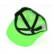 HUF USA Snapback, Hot Lime