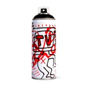 MTN limited edition 400ml - Keith Haring, Black