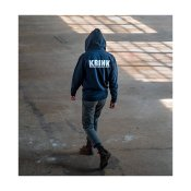 Krink Zip Sweatshirt, Navy
