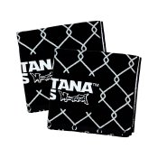 Montana Cans Beach Towel Typo+Logo, Black