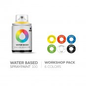 MTN Water Based 100ml Workshop Pack, 6-pack
