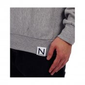 New Black Deluxe Crew, Grey