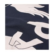 Parra Discarded Hooded Sweater, Navy Blue