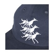 Parra Horse Club 6-Panel Hat, Navy Blue