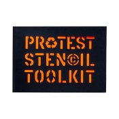 Protest Stencil Toolkit Book