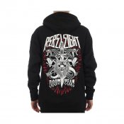 Rebel8 Doom Team Zip Hood, Black