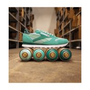 Reebok Classics CL Leather MCCS Shoes, Malachite Light