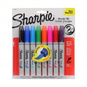 Sharpie Brush Tip, 8set