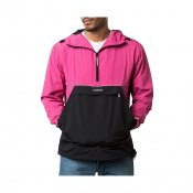 Stussy Reflective Sports Pullover, Berry