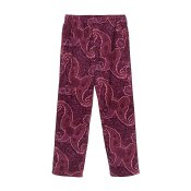 Stussy Side Piping Cord Pant, Burgundy