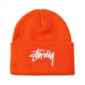 Stussy Stock Cuff beanie, Orange
