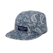 The Quiet Life Liberty Paisley 5-Panel Cap, Blue