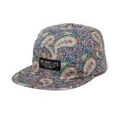 The Quiet Life Liberty Paisley 5-Panel Cap, Multi Color