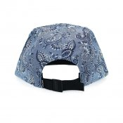 The Quiet Life Paisley 5-panel, Light Blue
