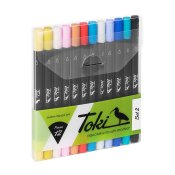 Toki Aquarelle Brush Marker 12set 2