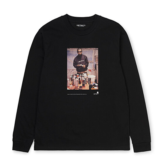 Carhartt LS 1998 Ad Jay One T-Shirt, Black