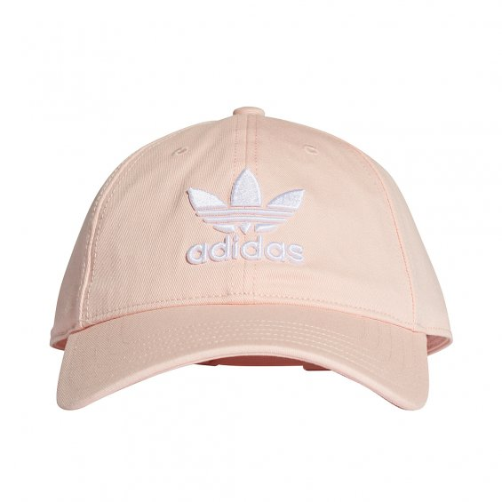 Adidas Originals Trefoil Cap, Blush Pink White