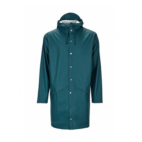 4cf6b777 Rains Long Jacket, Dark Teal - Jackets - Hlstore.com | Highlights