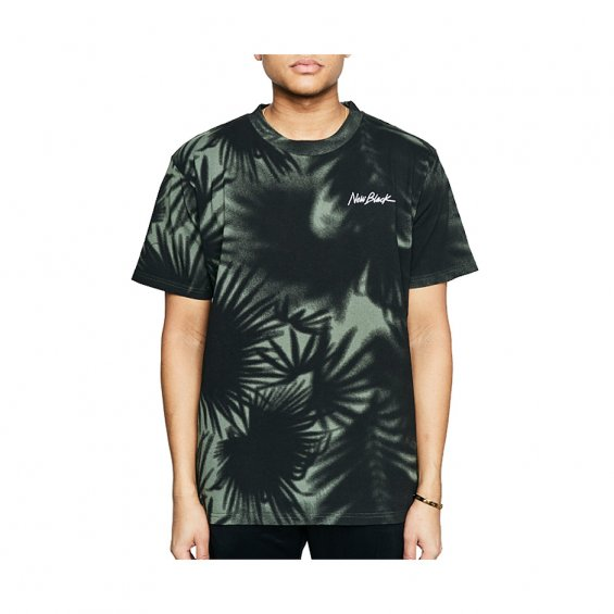 New Black Equator Tee, Forest