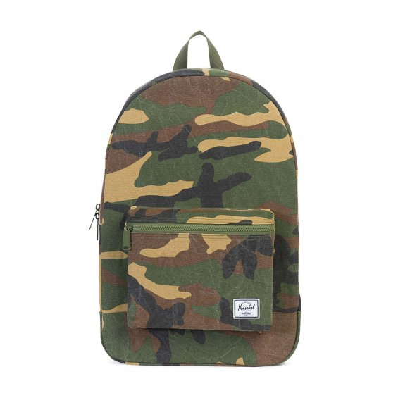 Herschel Supply Daypack Cotton, Woodland Camo