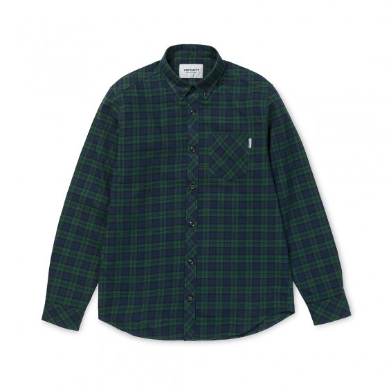Carhartt LS Shawn Shirt, Shawn Check Tasmania