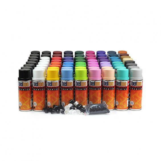 Molotow Premium Colour Pack 72 cans, Set A